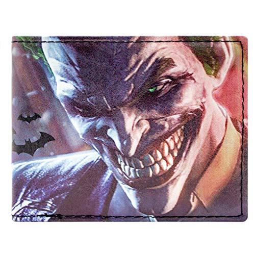DC Comics Batman Joker Mehrfarbig Portemonnaie Geldbörse