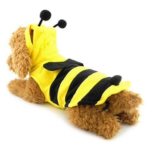 Imagen de pegasus pet ropa para cachorro perro pequeño gato disfraz de abejorro chaleco de amarillo alternativa