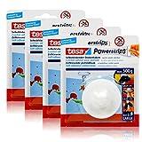 4x tesa Powerstrips Selbstklebender Deckenhaken - weiß für max. 500g Gewicht