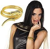 NEU Armreif Schlange / Ägypterin, gold