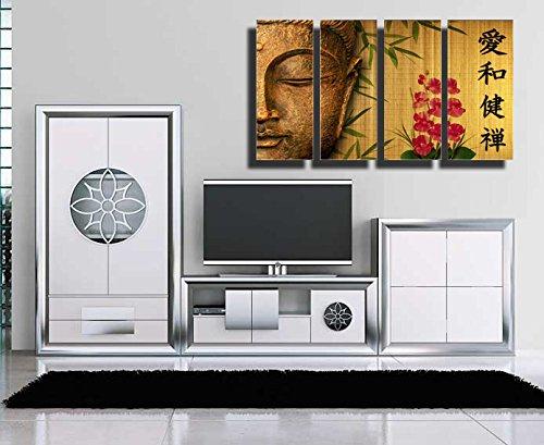 Cuadro Buda fotografico base madera, 131 x 62 cm, Buda, Buddha, Relax, Zen, Meditacion ref. 26066 4