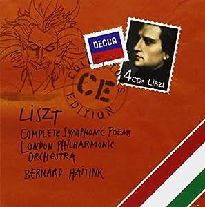Liszt : Intégrale des poèmes symphoniques (Coffret 4 CD)