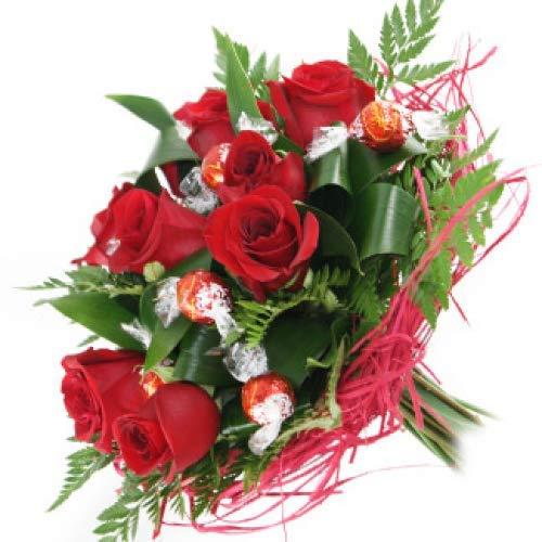 ¿Qué hay mejor que regalar flores y chocolate ? El significado de las rosas rojas es amor y respeto. Ninguna flor ha sabido tocar tan profundamente tantos corazones. La rosa roja tiene encanto propio... ¡¡es una flor majestuosa!! Posee un toque sensu...