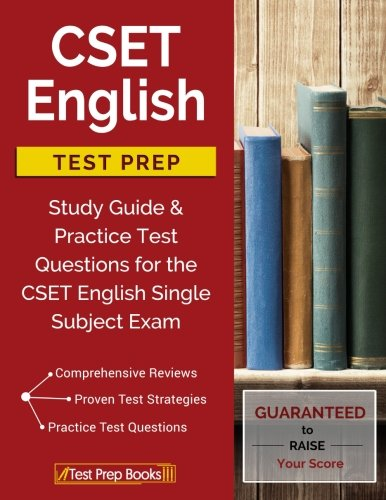 CSET English Test Prep: Study Guide & Practice Test Questions for the CSET English Single Subject Exam thumbnail
