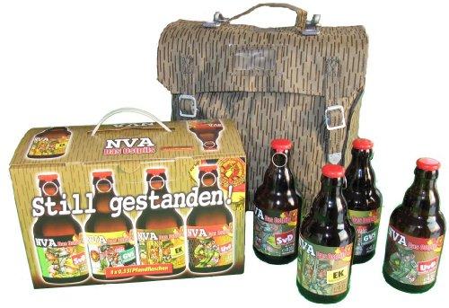 Bier Teilen (NVA Bier im 8er Geschenkkarton Teil 1 (8 x 0.33 l) inkl. Original NVA Tasche)