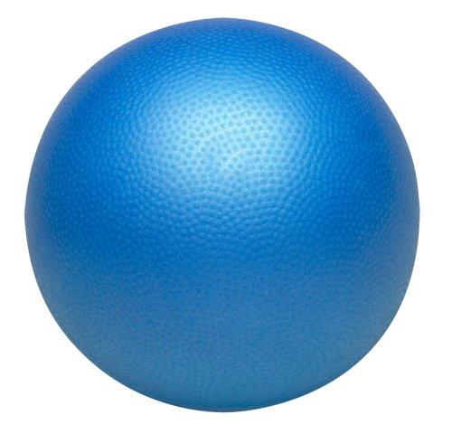 Valeo VA4448BL Trainingsball für Barre, Pilates, Core Training, verbessert Rumpfstärke, Balance und Stärke, 22,9 cm