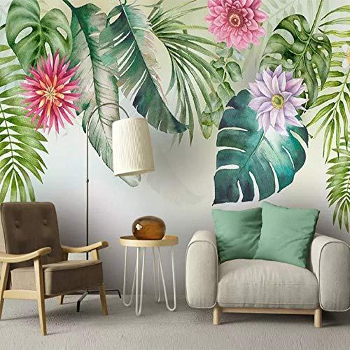 Kundenspezifisches Wandbild 3d Großes Wandbild handgemalte Blumentapete Schlafzimmer TV Hintergrund Tapete Retro dunkles Tapeten mural1 200x140CM