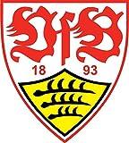 Stuttgart FC Germany Soccer Football Hochwertigen Auto-Autoaufkleber 10 x 12 cm