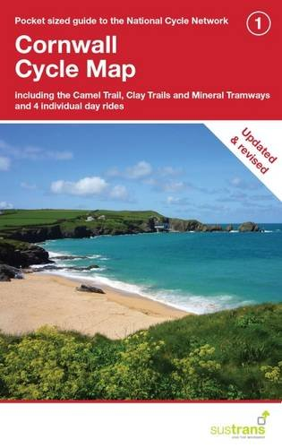 Cornwall Cycle Map: Including the Camel Trail, Clay Trails and Mineral Tramways, Plus 4 Individual Day Rides (CycleCity Guides) por Sustrans