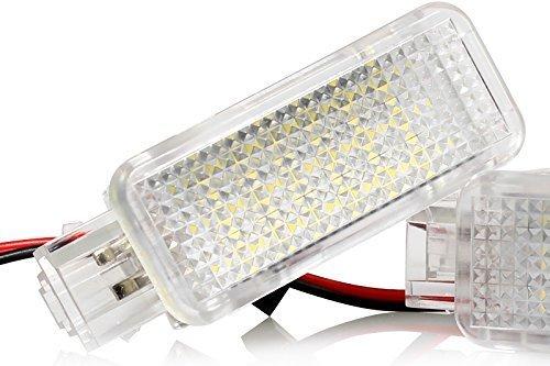 Preisvergleich Produktbild Light-Delux V-030901-1 LED Fußraumbeleuchtung Kofferraumbeleuchtung Türeinstiegsleuchten Schminkspiegel Handschuhfach