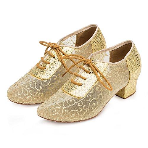 Miyoopark ,  Damen Tanzschuhe Gold-4cm heel