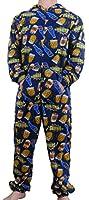 herren pyjama schlafanzug overall kost m onesie bekleidung. Black Bedroom Furniture Sets. Home Design Ideas