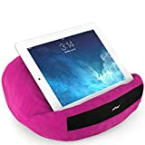padRelax casual iPad & Tablet Halter / Halterung / Ständer / Stütze / Kissen- für Bett, Sofa, Couch, Tisch - Top Zubehör für Geräte bis 10.5 Zoll (Apple iPad Air, Samsung Galaxy Tab, eReader) Pink