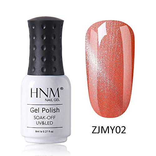 HNM Vernis Semi-Permanent Starry 3D Oeil de Chat Gel Vernis À Ongles Vernis UV Couleur LED Soak Off Salon De Manucure 8ML ZJMY-02