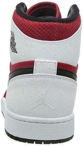 Nike Herren Air Jordan 1 Retro High Turnschuhe, Talla Rot / Schwarz / Weiß (Gym Rot / Schwarz-Weiß)