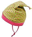 Maximo Babybindemütze Bindemütze Babymütze Mädchenmütze Jerseymütze Sommermütze Zipfelmütze gemustert f. Baby (MX-63500-930600-S17-BM0-0057-45) in Apfel, Größe 45 inkl. EveryKid-Fashionguide