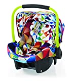 Cosatto Port - Baby Autositz 0-13 kg - Sicherheit + Schutz Für Die Kleinsten - Babyschale / Kindersitz Gruppe 0 - Erstausstattung Für Isofix + 3 Punkt Gurt, Spectroluxe