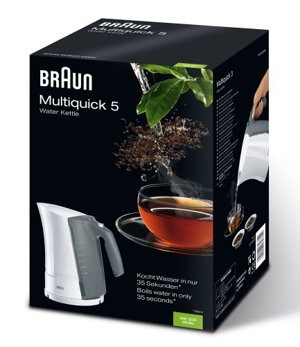 Braun Multiquick 5 WK 500 – kettle – white