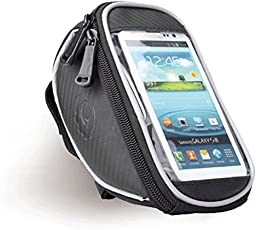 mobilx Waterproof Touch Screen Bicycle Case Mobile Holder Bag for iPhone 6, 6S Samsung Galaxy s7 s6 Cellphone - 5. 5 inch