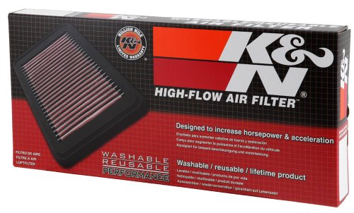 Lavabile e Riutilizzabile K/&N E-3322 Filtri Aria Sostitutivi Auto