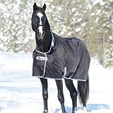BUCAS Outdoor Pferdedecke SMARTEX EXTRA, schwarz, 125