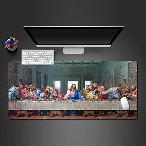Sxkdyax Mauspad Game Player Spiel Mousepad Computer Spiel Pad Halloween Weihnachten Kreative Computer Zubehör Gift-80CMX40CM