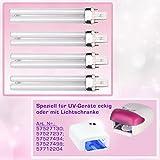 9W UV Ersatzröhren 8er Set-Tube Ersatz Aushärtelampe - UV-Lichthärtungsgerät