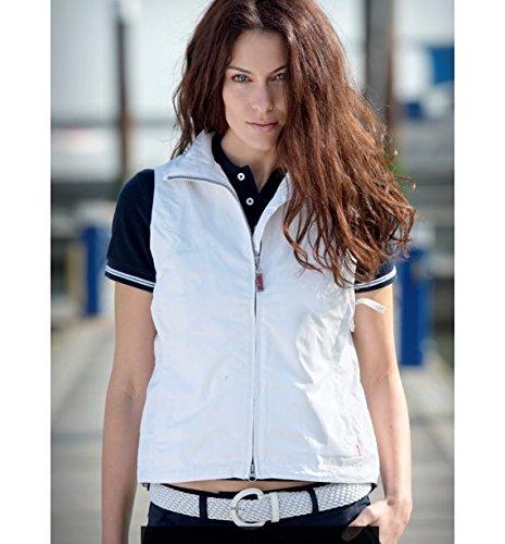 Slam Blanc Summer Sailing sans manches pour femme, 100% nylon blanc