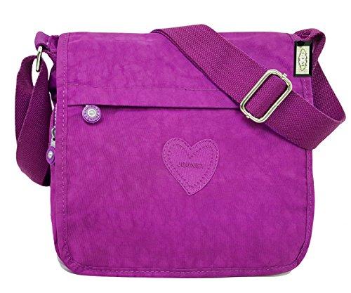 GFM Fashion, Borsa a tracolla donna Multicolore multicolore Small Style 9 - Khaki (KH)