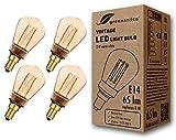 4x greenandco Ampoule à LED Décorative Style Vintage Rétro Industriel Antique...