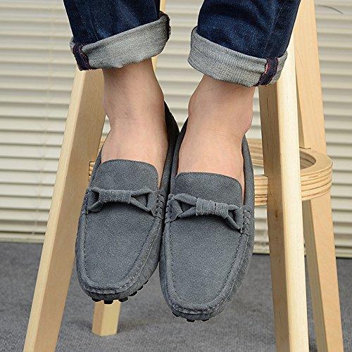 Icegrey Herren Mode Gehen Lässige Schuhe Halbschuhe Grau