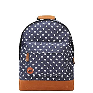 Mi-Pac Classic Backpack | Water Resistant Rucksack | All Stars Navy
