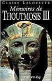 Mémoires de Thoutmosis III