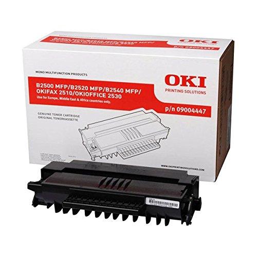 Preisvergleich Produktbild OKI 9004447 B2500, B2520, B2540MFP, OKIFAX 2510, OKIOFFICE 2530 Tonerkartusche 2.200 Seiten, schwarz