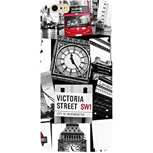 Casotec London Taxi Bus Design Hard Back Case Cover for Apple iPhone 6 / 6S