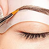 uniqueaur Professionelle Augenbrauen AIDS, 24Styles Augenbrauen Modelle Augenbrauen Vorlagen Schablonen DIY Make-up Styling Tools, 1
