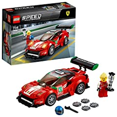 """Idea Regalo - Lego Speed - Champions Ferrari 488 GT3 """"Scuderia Corsa, 75886"""