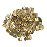 Imported 100Pcs Small Triangle D-Ring Pi...