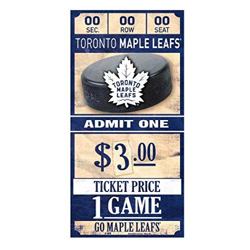 le Leafs NHL Ticket Schild ()
