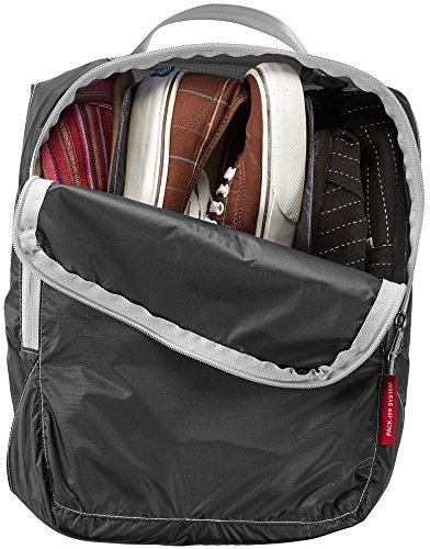 Eagle Creek Schuhsack Pack-It Specter Multi-Shoe Cube Schuhorganizer für die Reise, ebony ebony