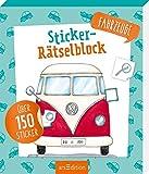 Sticker-Rätselblock Fahrzeuge