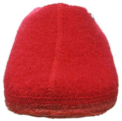 Giesswein Unisex-Erwachsene Tönning Hausschuhe Rot (Rot)