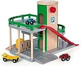BRIO Parkhaus, Straßen und Schienen, 1 Set