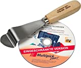 Türfallen-Öffnungs-Spachtel Universal Türöffner 20 mm von Multipick mit DVD Anleitung