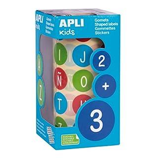Apli Kids Lunch-Stickern, Mehrfarbig, rund (15126)