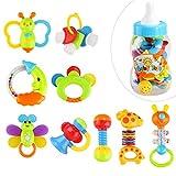 Toyvian Premier hochet et jouet de dentition bébé jouets de dentition avec jouet de...