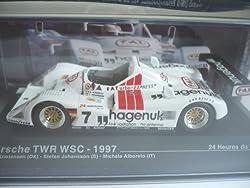 Porsche TWR WSC, No.7, Hagenuk, 24h Le Mans, 1997, Modellauto, Fertigmodell, MCW-SC06 1:43