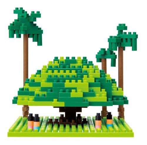 Nanoblock: Sites to See: Giant Banyan Tree