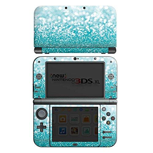 Nintendo New 3DS XL Case Skin Sticker aus Vinyl-Folie Aufkleber Glitzer Glanz Glitter