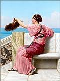 Posterlounge Forex-Platte 100 x 130 cm: Das Signal von John William Godward